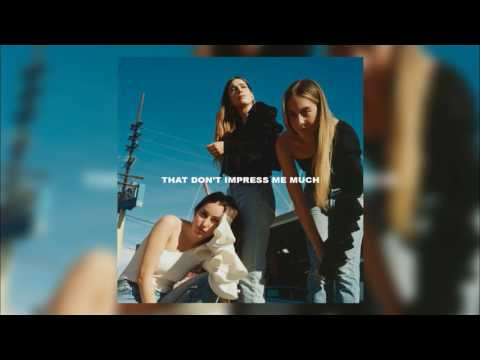 HAIM - That Don't Impress Me Much (Audio Only)