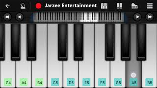 Tune Mere Jaana (Emptiness) - Easy Mobile Perfect Piano Tutorial | Jarzee Entertainment