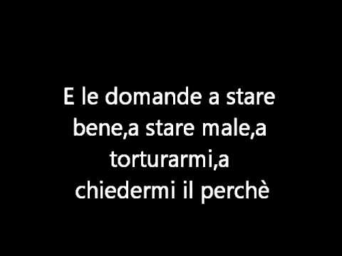 Tiziano Ferro - La differenza tra me e te + TESTO - LYRICS