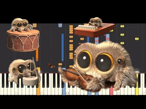 download IMPOSSIBLE REMIX - Lucas The Spider - One Man Band - Piano Cover