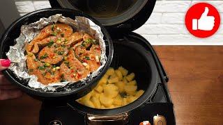 Я никогда не перестану готовить это блюдо вкусно Вы готовили так рыбу с картошкой в мультиварке