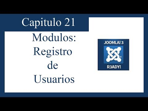 TUTORIAL JOOMLA 3.0 CAPITULO 21: LOGIN FORM