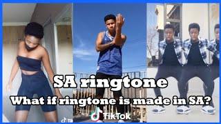South Africa Ringtone Dance TikTok SA ????| What if ringtone is made in South Africa ????| Amaiphone