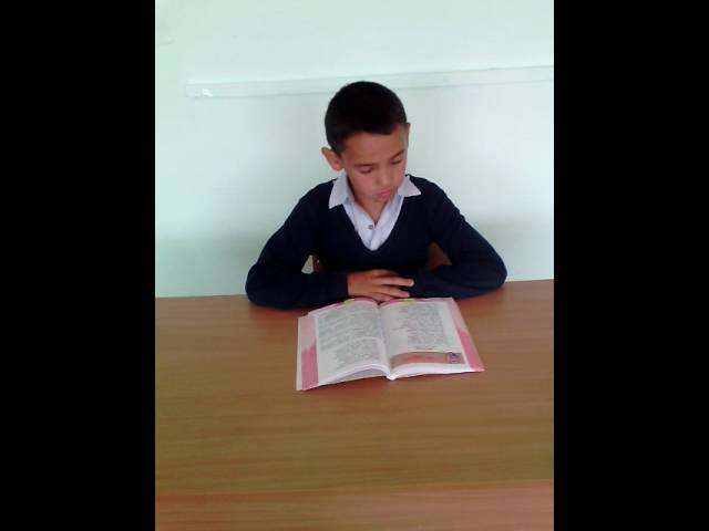 Владик Хурамшин читает произведение «Листопад» (Бунин Иван Алексеевич)