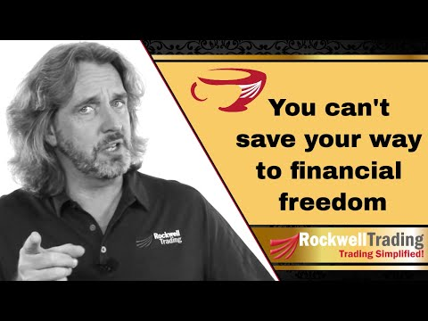 You can't save your way to wealth! – Here's what to do instead…