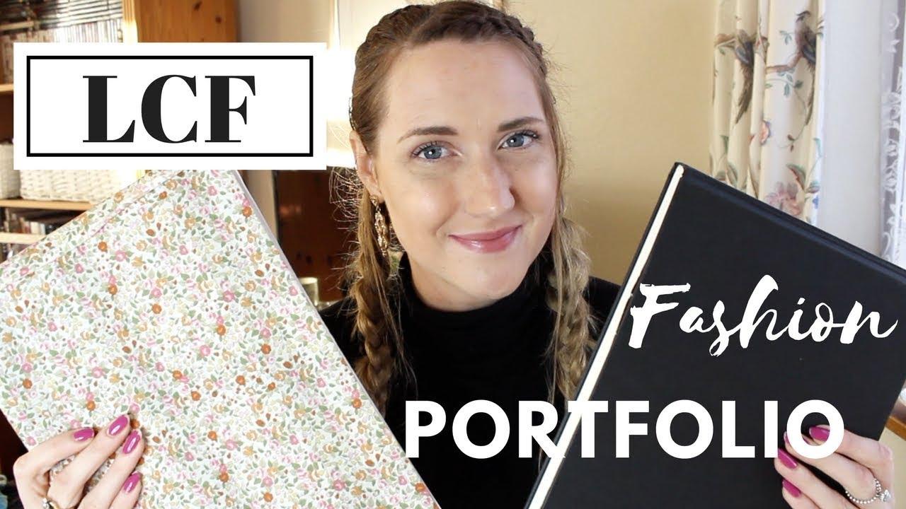 My Fashion Portfolio London College Of Fashion Youtube