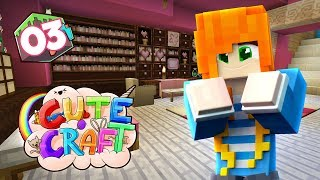 DECORATING MY HOUSE | Minecraft: CuteCraft SMP - Ep.03