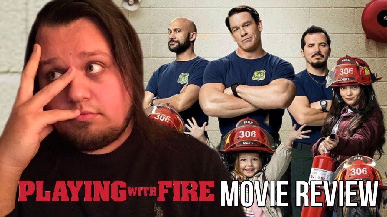 Review: John Cena stars in low-brow comedy 'Playing With Fire'