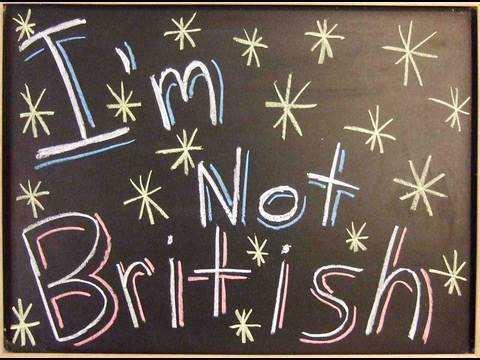 I'm not British - A comedy vlog about what it means to be British.