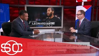 Woj updates: Kawhi Leonard trade, free agent Isaiah Thomas and OKC's tax bill | SportsCenter | ESPN