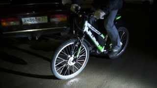 Stels Navigator + Мотор-колесо(, 2014-03-11T21:53:01.000Z)