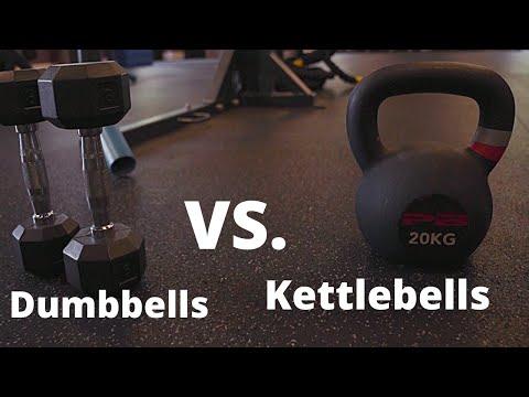 Kettlebells vs. Dumbbells (Which are better?)