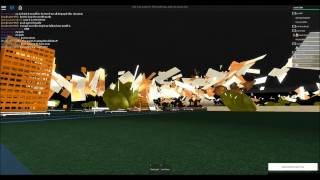 ROBLOX Storm Chasers - ROBLOXia DEMOLISHED + Epic Lightning! (14)