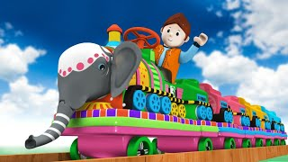 Hati Raja Kaha Chali - The Elephant Train Toy Factory