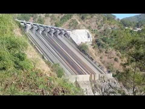Ambuklao Dam Spillway
