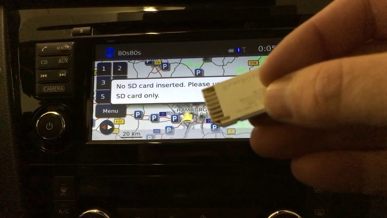 Nissan KE288-LCNKEV3 SD card copy