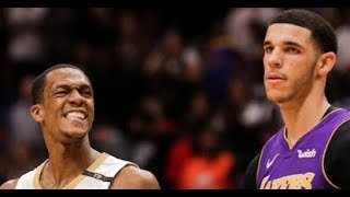BREAKING NEWS! RAJON RONDO STARTING FOR THE LAKERS! (REPORTS)