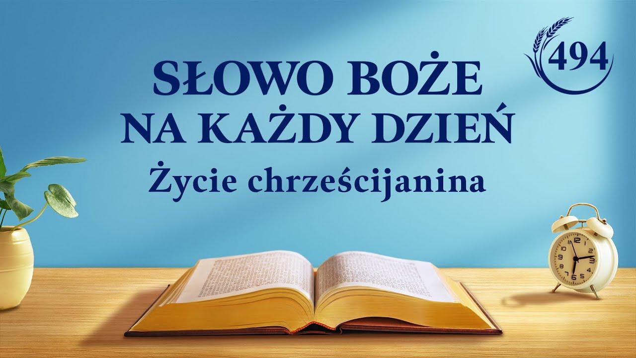 """Słowo Boże na każdy dzień   """"Szczera miłość do Boga jest spontaniczna""""   Fragment 494"""