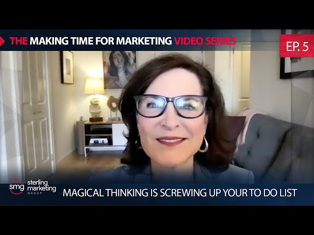 Magical Thinking Is Screwing Up Your To Do List