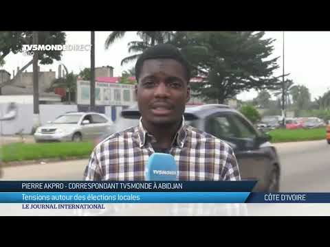 Elections municipales et régionales en Côte d'Ivoire : tension au Plateau à Abidjan
