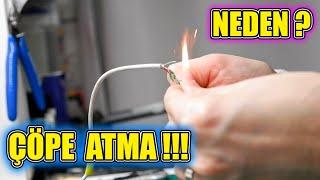 BOZULAN ŞARJ KABLOSUNU ÇÖPE ATMAYIN ! Kopan şarj kablosu tamiri nasıl yapılır ?