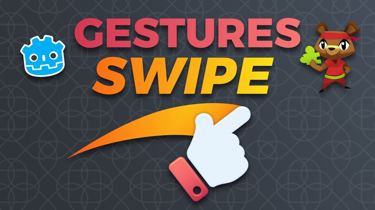 How to Detect Gestures and Swipes in Godot (tutorial)