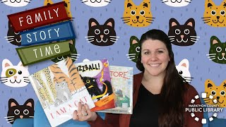 video thumbnail: Family Story Time - Cats!