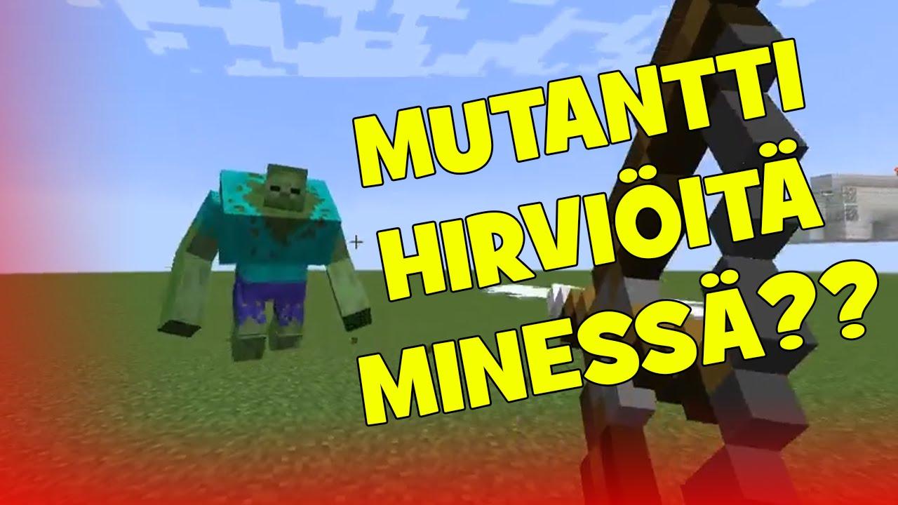 Minecraft Hirviöt