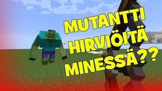 Minecraft: MUTANTTI HIRVIÖITÄ?? [Mutant Creatures Mod] Esittely!