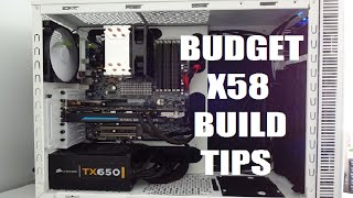 Budget Gaming PC Build X58 Chipset Hp z400 Motherboard Xeon W3530 CPU Modification Tips PART 4