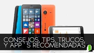 Microsoft Lumia 640 y 640XL Tips Trucos Y Aplicaciones Recomendadas HD