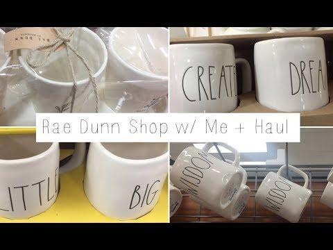 Shop With Me Rae Dunn Homegoods Tjmaxx 2018 Youtube