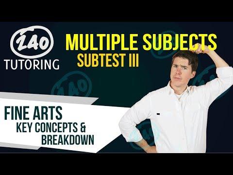 CSET Multiple Subjects: Subtest III - [2018] - Key Concepts and Idea Explained