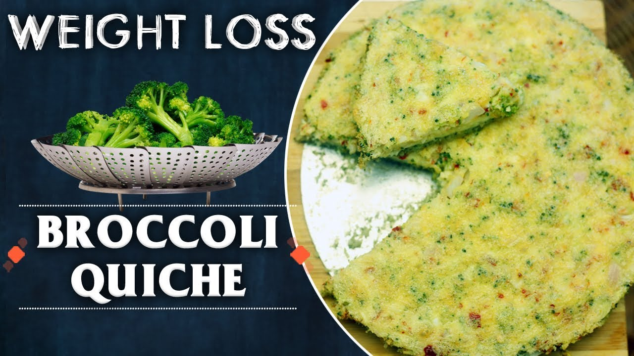 Broccoli Quiche Recipe | Best Food For Weight Loss | Special Food Recipes | ABN Indian Kitchen