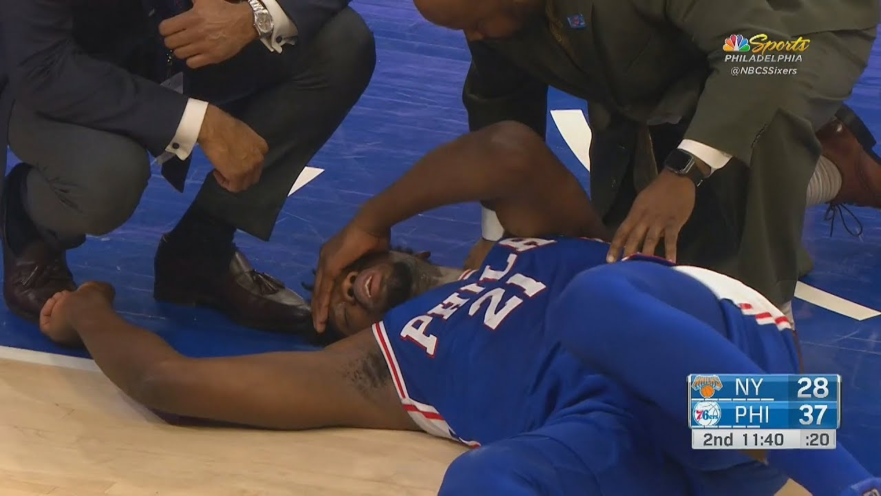 Joel Embiid injury update: 76ers star out Thursday vs. Knicks with ...