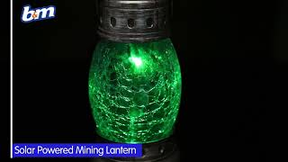 Mining Lantern with Crackle Ball | B&M Stores