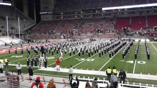 Ohio State Marching Band Postgame Concert Incl Hang on Sloopy 11 7 2015 OSU vs MN
