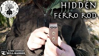 How to Add a Ferro Rod to Your Knife Sheath - Bushcraft Hack | Bjørn Andreas Bull-Hansen