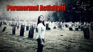 Haunted: Union Cemetery in Connecticut!!! Ghost Caught!!!