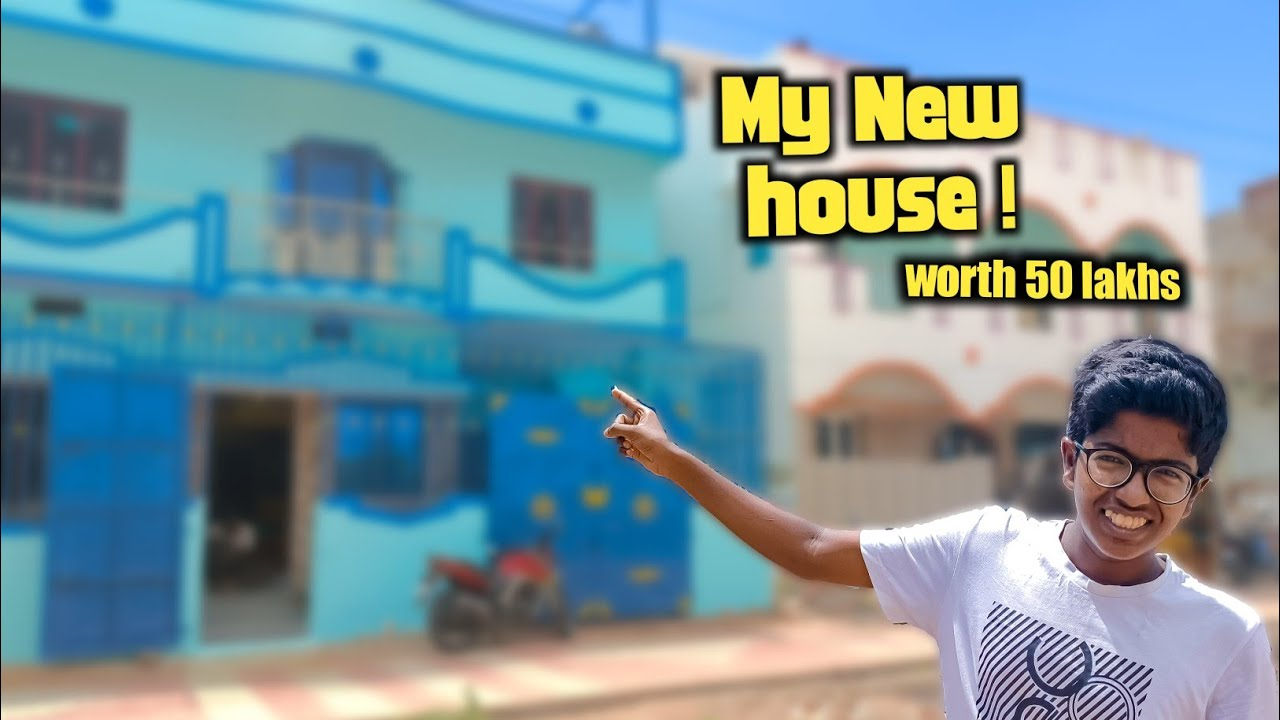 My New own house ! worth 50,00,000 rs😱! home tour