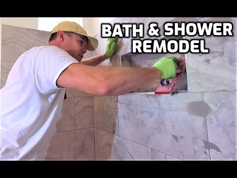 Old to New Bath and Shower Remodel