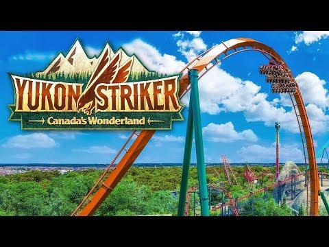 Yukon Striker NEW Dive Coaster for Canada's Wonderland 2019