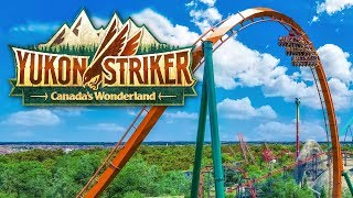 Yukon Striker NEW Dive Coaster for Canada's Wonderland 2019