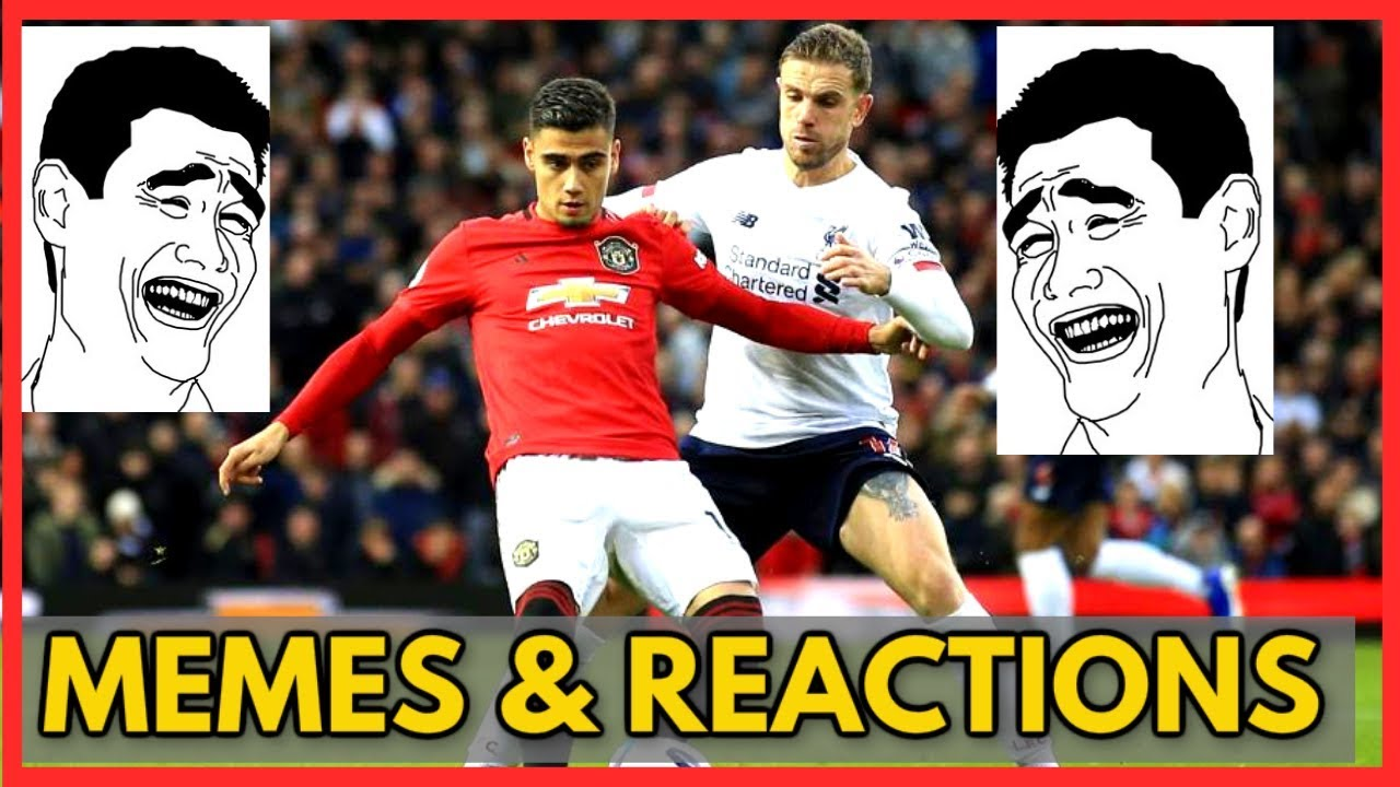 Manchester United Vs Liverpool Fc 1 1 Memes Reactions Premier League 2019 2020 Matchday 9 Youtube