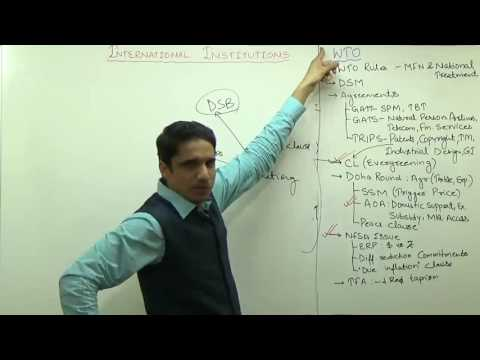 (3/3)Indian Agriculture : Doha Round, SSM, AOA, TFA, NFSA Issue | Explained by M K Yadav