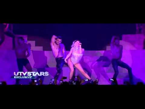 Lady Gaga At India ( The Edge Of Glory - Bad Romance) Part 2