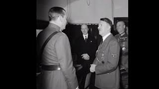 Гитлер в Финляндии, 1942 год. Запись личной беседы с Маннергеймом. ( #Гитлер #Вторая мировая война )