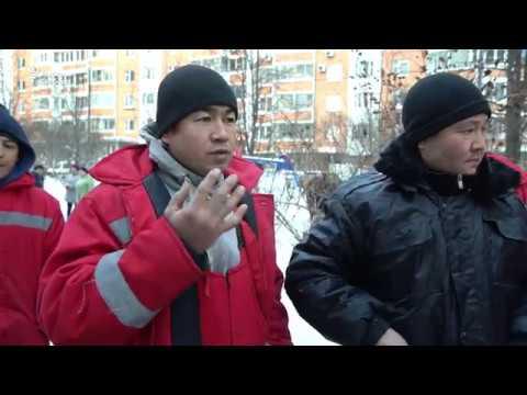 В Москве протестуют дворники