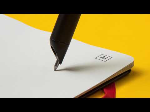 Moleskine's new smart notebook vectorizes lines in Adobe Illustrator in real time