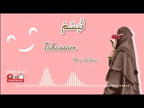 sholawat-tabassam-تَبَسَّمْ-by-devy-berlian---lirik-&-terjemahan-...-#tabassam